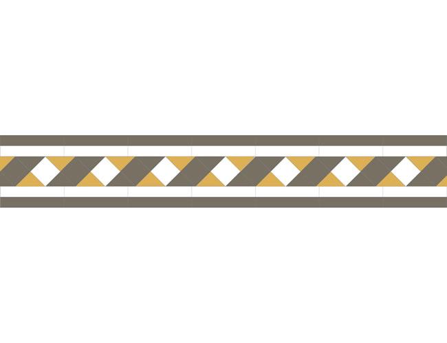 Ribbon Anthracite/Super White/Yellow